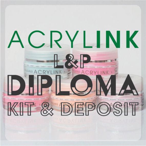 Professional Acrylink L&P Diploma - Full Kit & Course Deposit